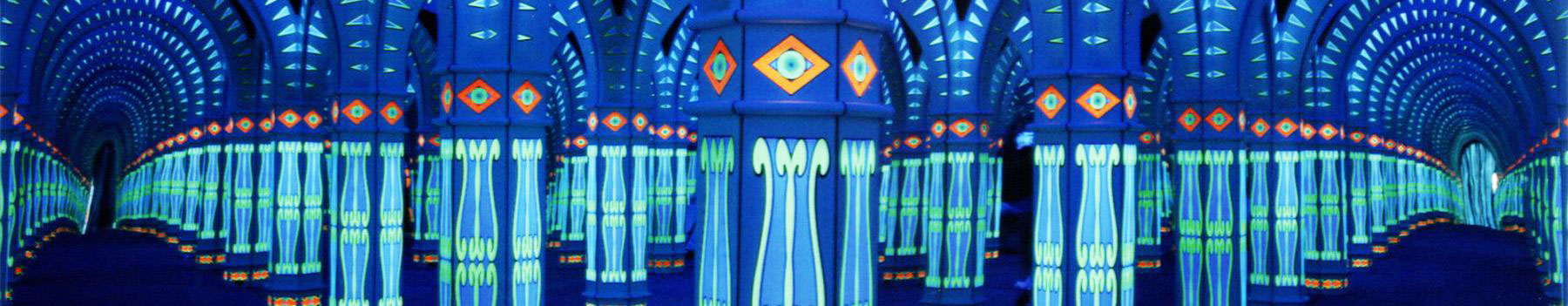 Mirror Maze in Gatlinburg with Music and Light Show